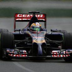 Jean-Eric Vergne, el Toro Rosso 25