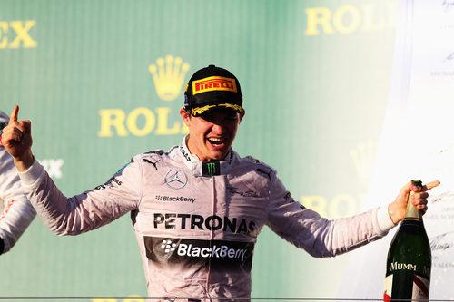 Primera victoria del año para Nico Rosberg