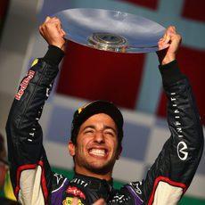 Segunda posición para Daniel Ricciardo en Australia