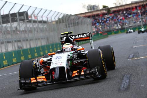 Sin puntos para Sergio Pérez en Australia