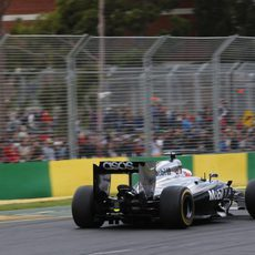 Jenson Button disputa el GP de Australia