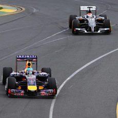 Sebastian Vettel abandonó en Australia