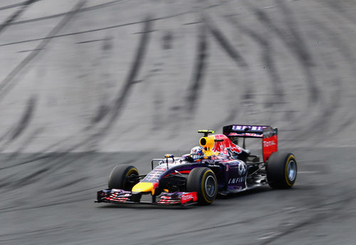 Daniel Ricciardo alcanzó el podio en casa