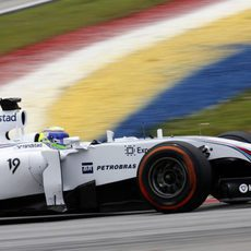 Felipe Massa exprime el FW36