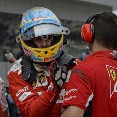 Fernando Alonso acaba cuarto la clasificación