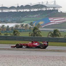 Compuesto duro para Kimi Räikkönen en el GP de Malasia