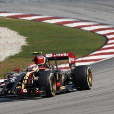 Romain Grosjean se quedó cerca de los puntos
