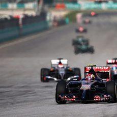 Daniil Kvyat puntua por segunda vez consecutiva