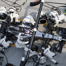Jenson Button en un pitstop
