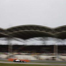 Jenson Button logra la sexta posición