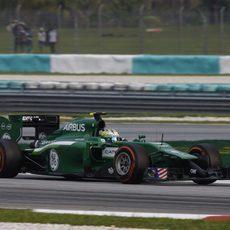 Marcus Ericsson termina en decimocuarta posición