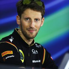 Preguntas para Romain Grosjean en Baréin