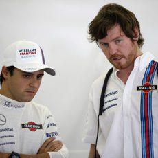 Felipe Massa y Rob Smedley, juntos de nuevo
