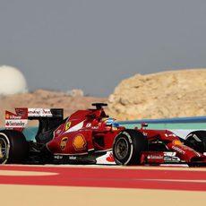 Fernando Alonso tuvo una jornada sin problemas