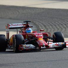 Buenas sensaciones de Fernando Alonso en Baréin