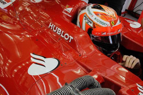 Kimi Räikkönen, preparado para salir