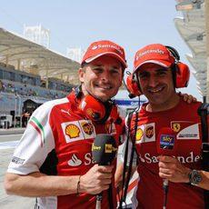 Giancarlo Fisichella y Marc Gené, comentaristas para la TV italiana