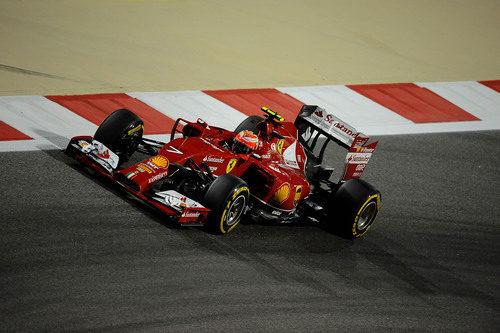 Kimi Räikkönen no estuvo cómodo con el F14-T