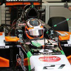 Nico Hülkenberg está listo para salir al circuito