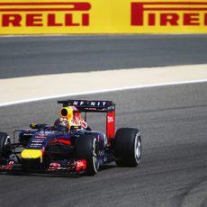 Día sólido para Sebastian Vettel en Baréin