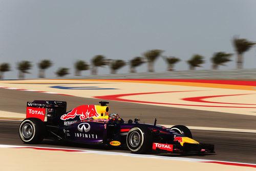 Sebastian Vettel tuvo un viernes libre de problemas