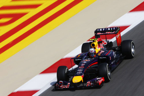 Tandas largas para Daniel Ricciardo en Baréin