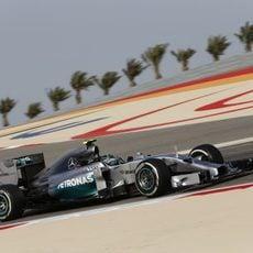 Nico Rosberg fue segundo en ambas sesiones de entrenamientos