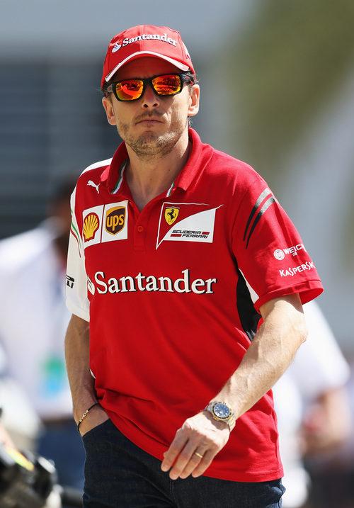 Giancarlo Fisichella, presente en el GP de Baréin