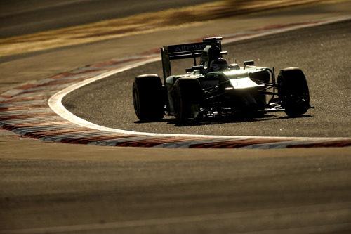 Kamui Kobayashi disputa la tercera clasificación del año