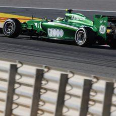 Marcus Ericsson avanza a los mandos del CT05