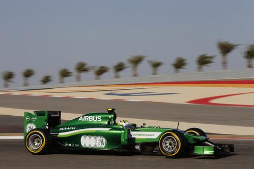 Marcus Ericsson trata de mejorar en Sakhir