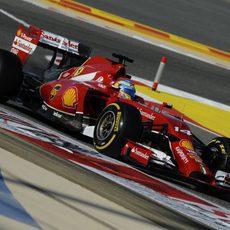 Pérdida de potencia del motor de Fernando Alonso