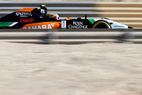 Buen rendimiento de Sergio Pérez con el VJM07