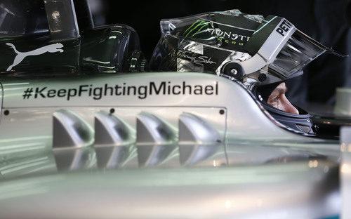 Nico Rosberg, listo para clasificar en Baréin