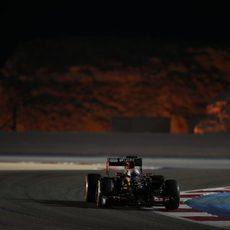 Romain Grosjean alcanzó la Q2 por 9 milésimas