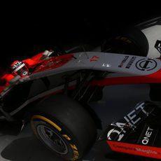 Jules Bianchi en la noche de Baréin