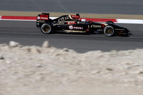 Instantánea 'rocosa' de Romain Grosjean