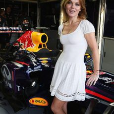 Geri Halliwell, la novia de Christian Horner