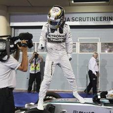 Victoria de Lewis Hamilton en Baréin