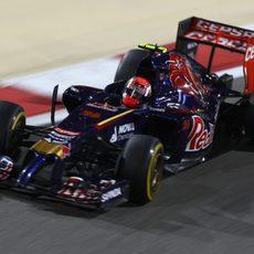 Daniil Kvyat se quedó a las puertas de los puntos