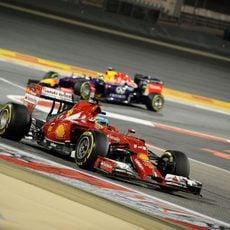 Dos puntos para Fernando Alonso en Baréin