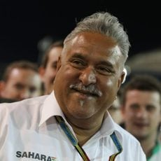Vijay Mallya, contento por el resultado de su equipo