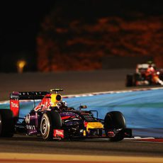 Daniel Ricciardo acarició el podio en Baréin