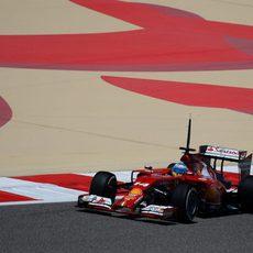 Pruebas de configuración para Fernando Alonso