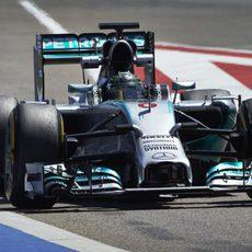 Nico Rosberg a los mandos del F1 W05