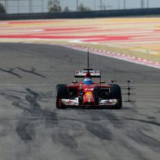 Problemas de chasis para Fernando Alonso