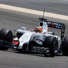 Felipe Nasr completa el segundo día de test para Williams