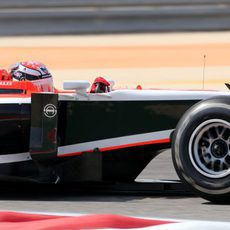 Jules Bianchi estuvo en Baréin con Marussia