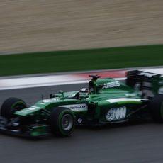 Kamui Kobayashi clasifica en 18ª posición