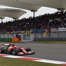 Octavo puesto para Kimi Räikkönen en China